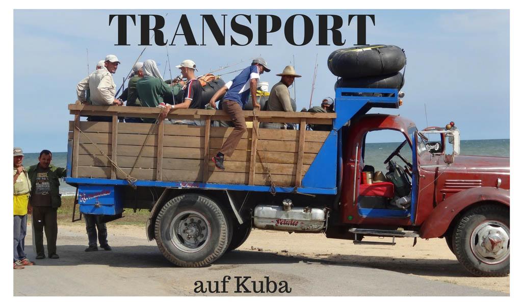 Transport Kuba Reisen